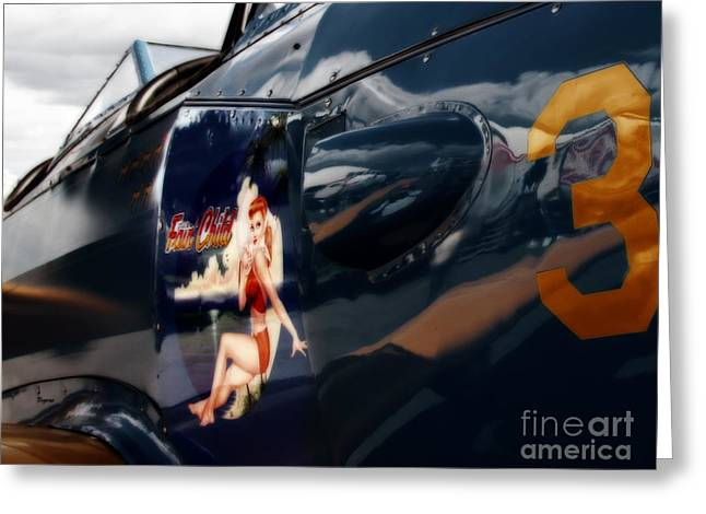 Art In '43' Greeting Card by Steven Digman