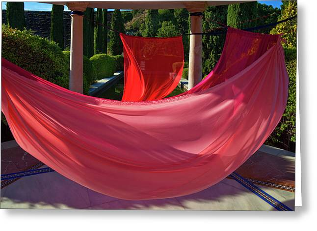 Art Installation Greeting Card by Panoramic Images