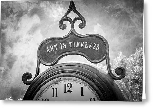 Art Is Timeless Greeting Card