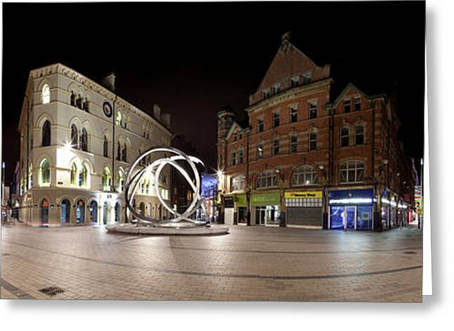 Arthur Square, Belfast, County Antrim Greeting Card by Panoramic Images