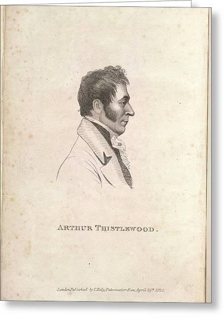 Arthur Thistlewood Greeting Card