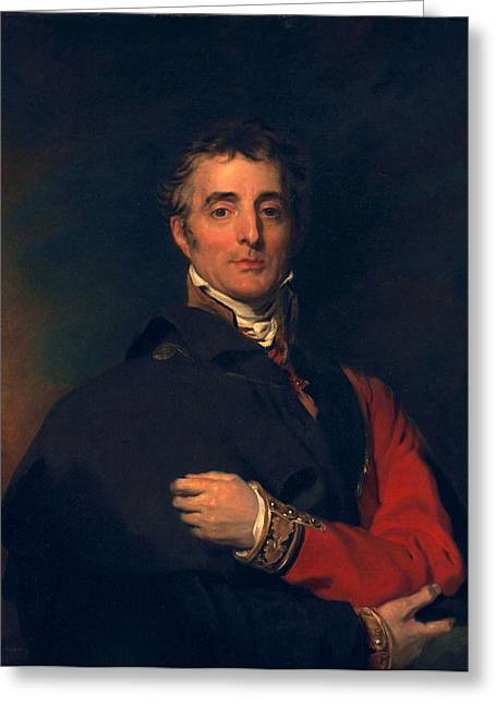 Arthur Wellesley, Duke Of Wellington Greeting Card