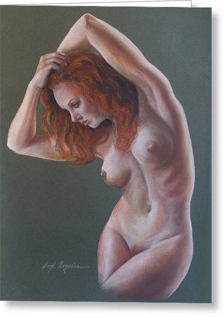 Artistic Nude Greeting Card