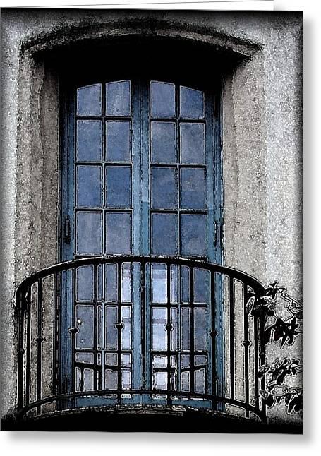 Artistic Window Greeting Card