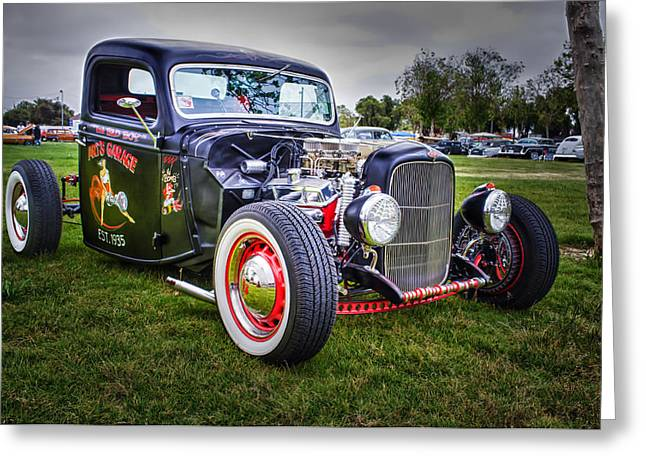 Art's Garage Greeting Card by Thomas Hall Photography