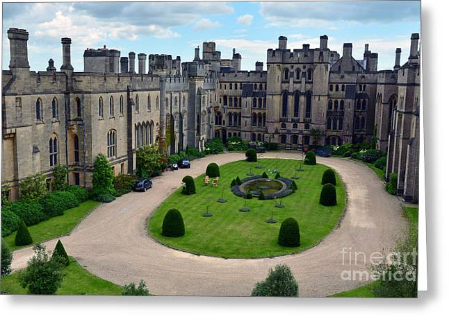 Arundel Castle Courtyard Greeting Card