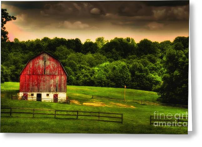 As Darkness Falls Greeting Card by Lois Bryan