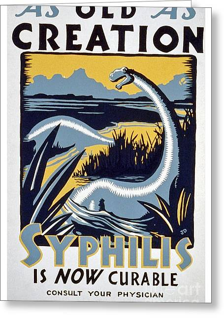 As Old As Creation - Vintage Wpa Poster Greeting Card