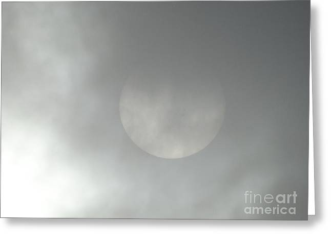 As The Fog Rolls In  Greeting Card