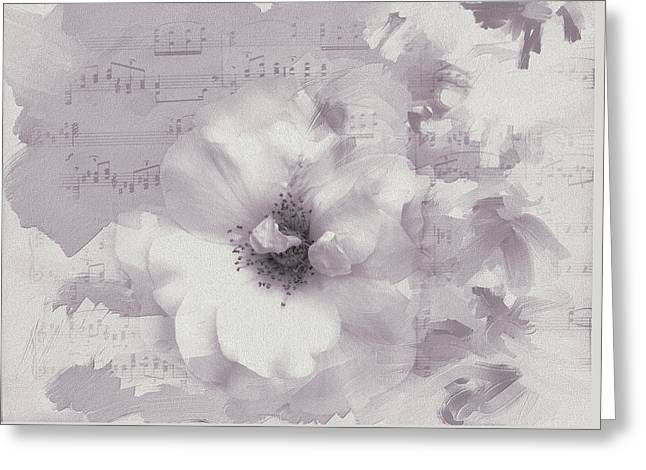 As The Music Fades Greeting Card