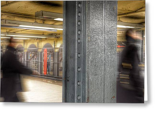 As Time Goes By - New York Metro Greeting Card