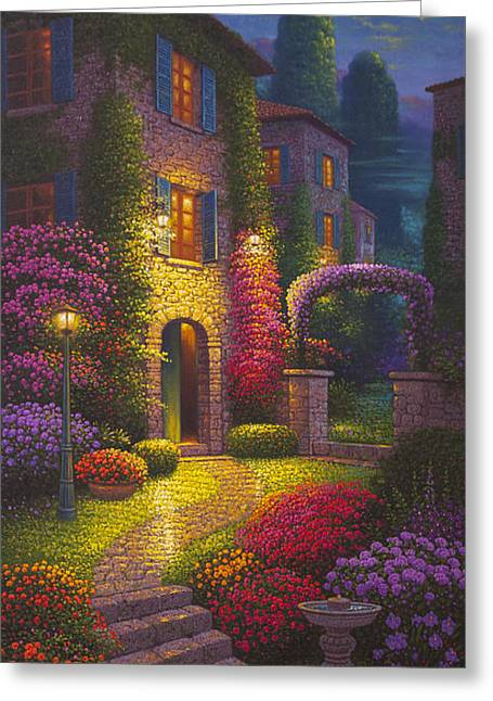As You Light My Path Greeting Card