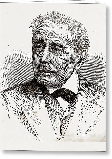 Asbury Jarrett, Aged 87, 1880, Usa, America Greeting Card by Litz Collection