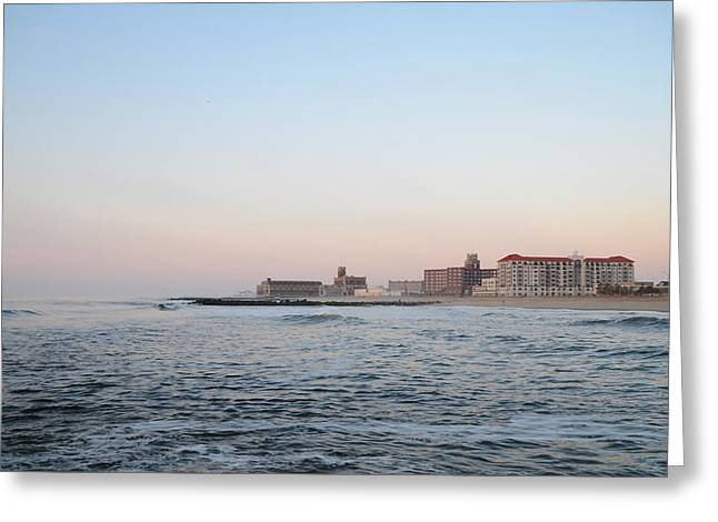 Asbury Park New Jersey Greeting Card by Bill Cannon