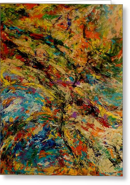 Ascension Abstraction Greeting Card