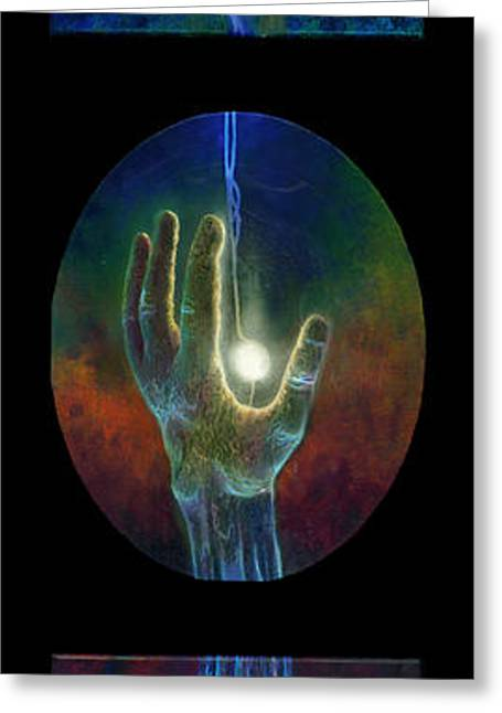 Ascension Of The Soul Greeting Card