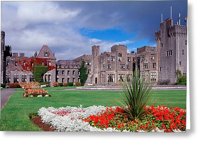 Ashford Castle, Ireland Greeting Card by Panoramic Images