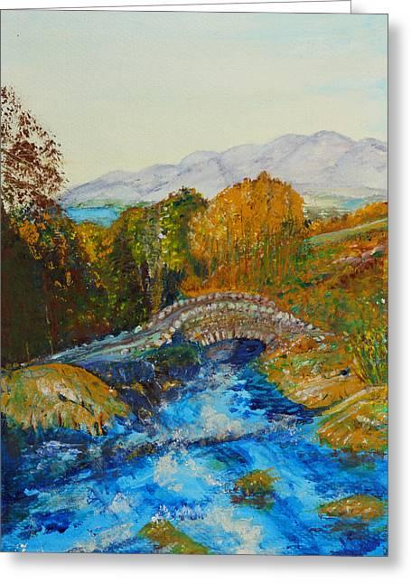 Ashness Bridge - Painting Greeting Card