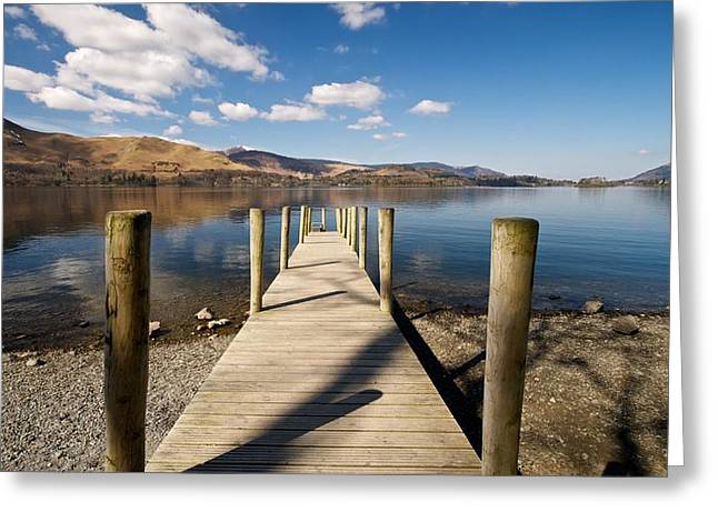 Ashness Jetty Greeting Card