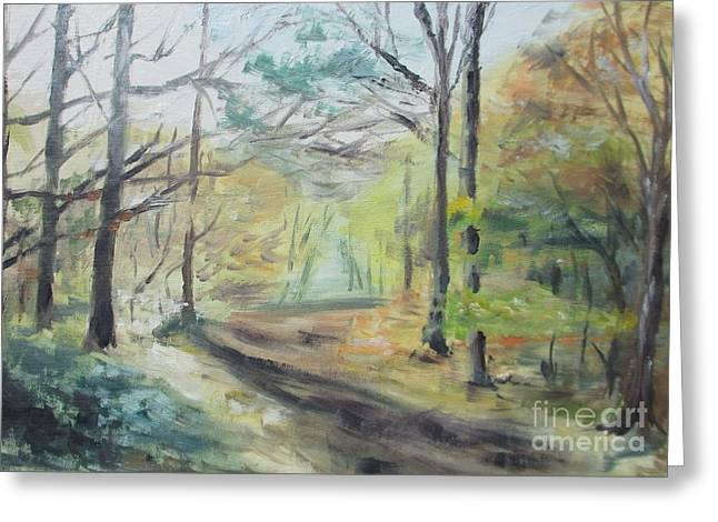 Ashridge Woods 2 Greeting Card by Martin Howard