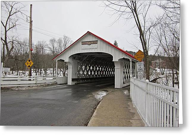 Ashuelot Bridge Greeting Card