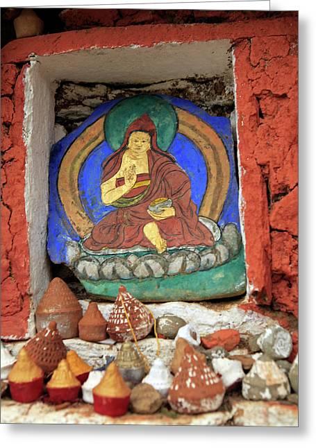 Asia, Bhutan, Paro Greeting Card by Kymri Wilt