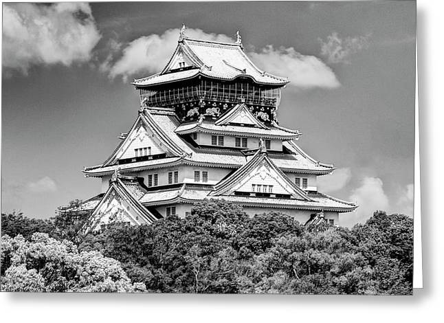 Asia, Japan, Osaka Greeting Card by Jaynes Gallery