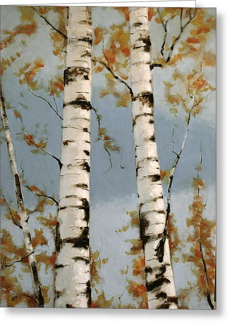 Aspen Autumn Greeting Card