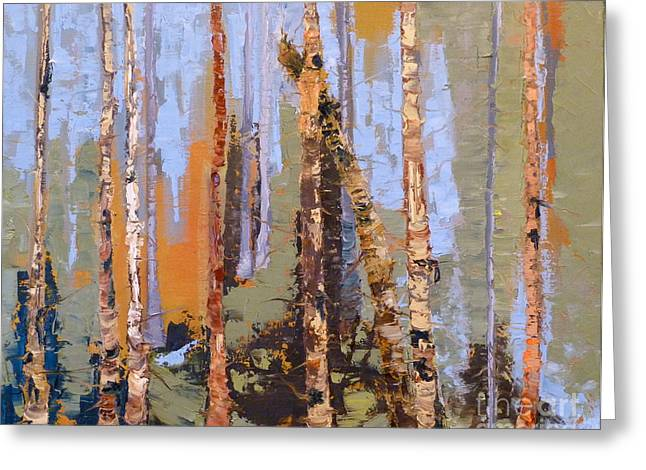 Aspen Forest Colorado Greeting Card