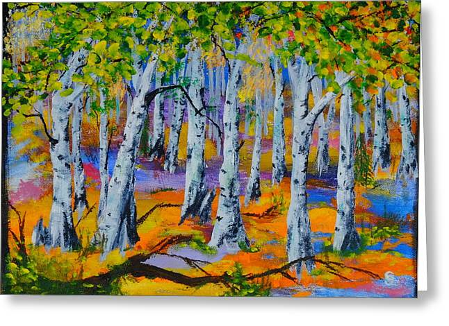 Aspen Friends In Walkerville Greeting Card