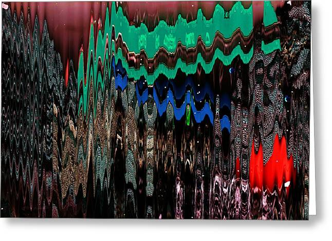 Aspirations To New Dimensions Greeting Card by Anne-Elizabeth Whiteway