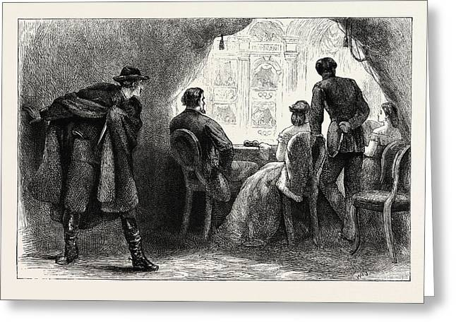 Assassination Of President Lincoln, United States Of America Greeting Card by American School