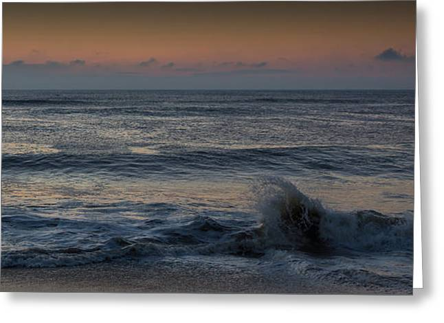 Assateague Waves Greeting Card