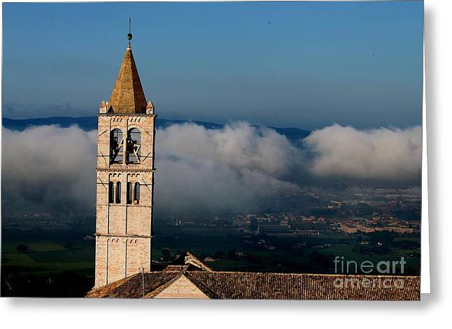 Greeting Card featuring the photograph Assisi - 4 by Theresa Ramos-DuVon