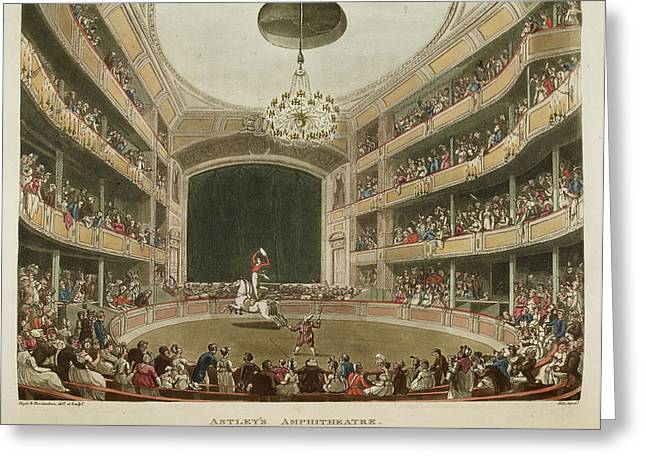 Astley's Amphitheatre Greeting Card