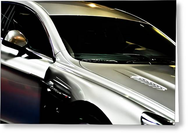 Aston Martin Rapide Greeting Card