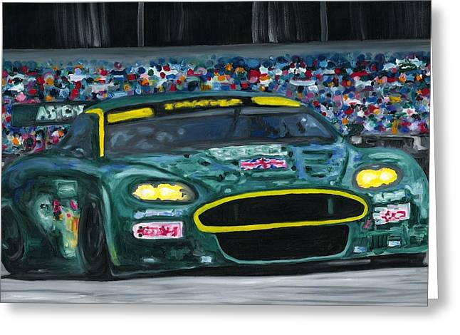 Aston Martin Wins Le Mans 2008 Greeting Card