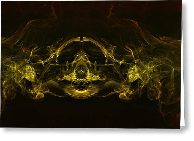 Astral Cruiser Greeting Card by Mike Farslow