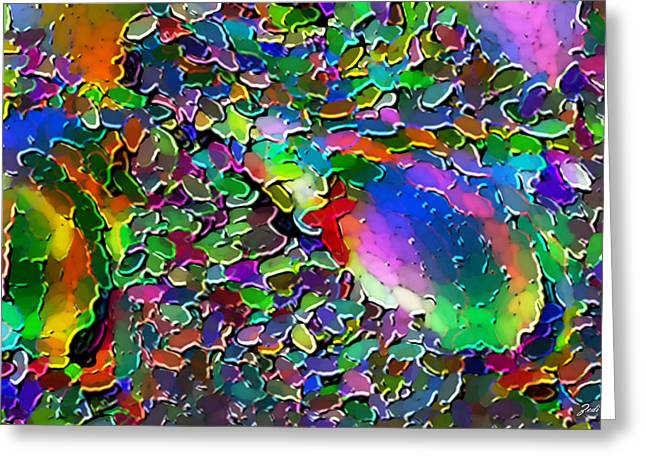 Astratto - Abstract 25  Greeting Card