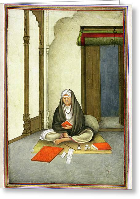 Astrologer In India Greeting Card by British Library