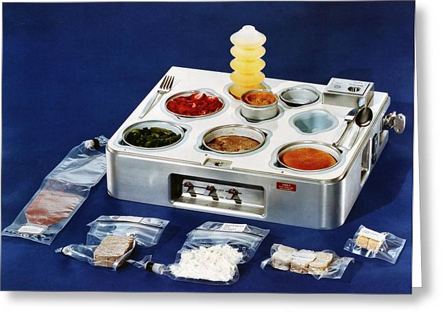 Astronaut Food Greeting Card by Nasa