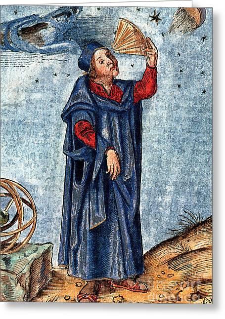 Astronomer 16th Century Greeting Card