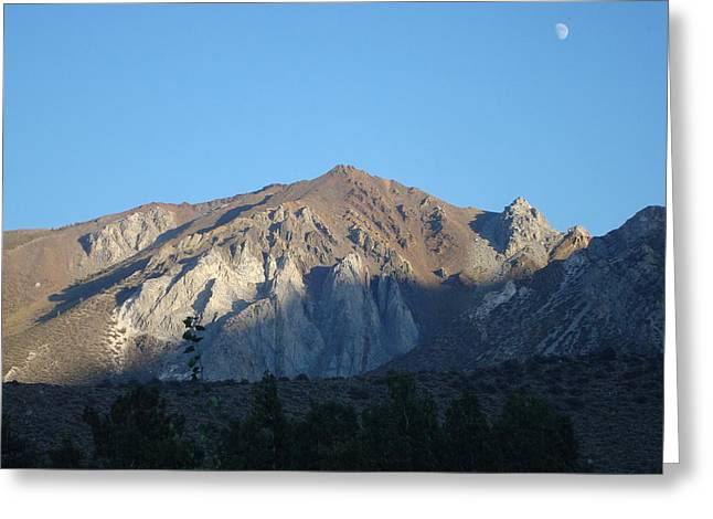 At Convict Lake Campground Greeting Card
