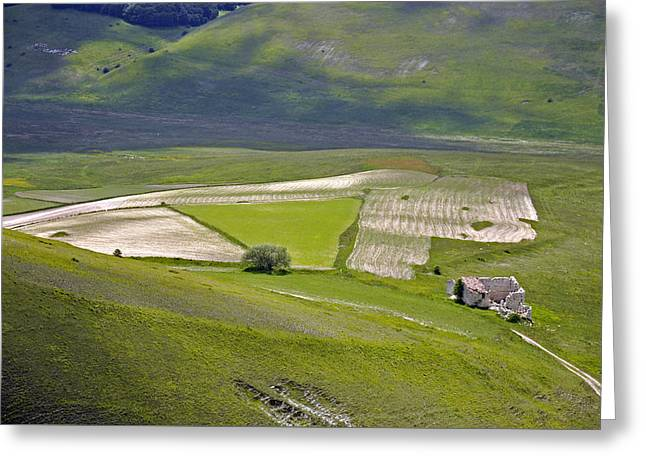 Greeting Card featuring the photograph Parko Nazionale Dei Monti Sibillini, Italy 7 by Dubi Roman