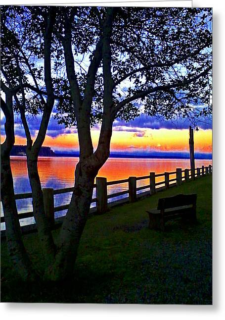 At Sunset Greeting Card by Kevin D Davis