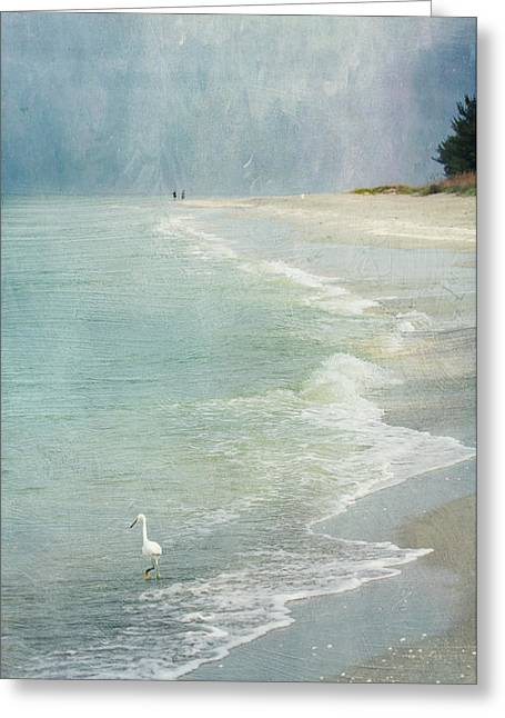 At The Beach - Captiva Island Greeting Card