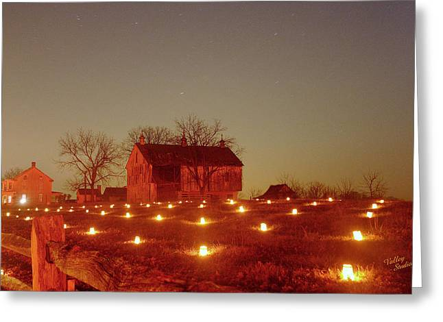 Greeting Card featuring the photograph At The Cornfield 12 by Judi Quelland