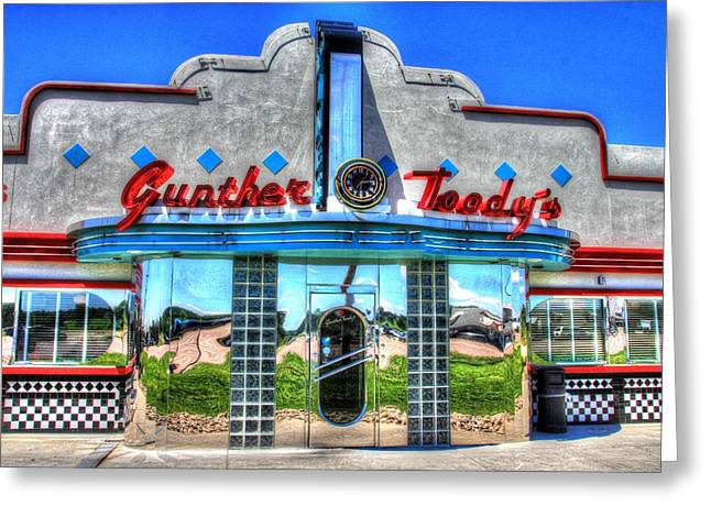 At The Diner 4 Greeting Card by Diane Alexander