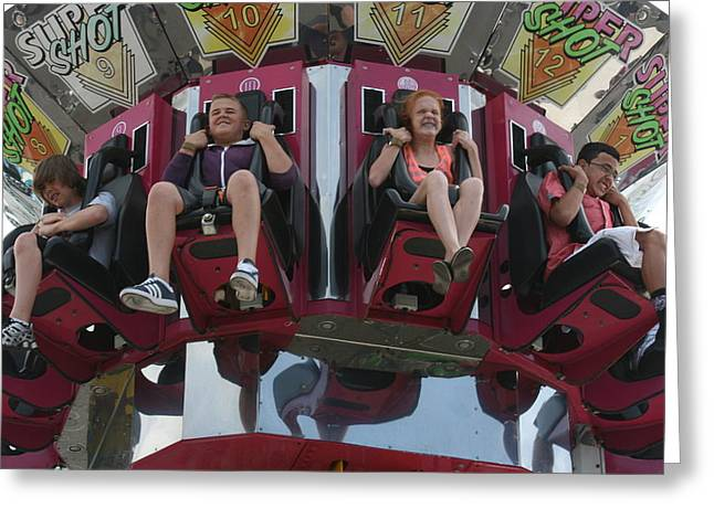 Greeting Card featuring the photograph At The Fair by Cynthia Marcopulos