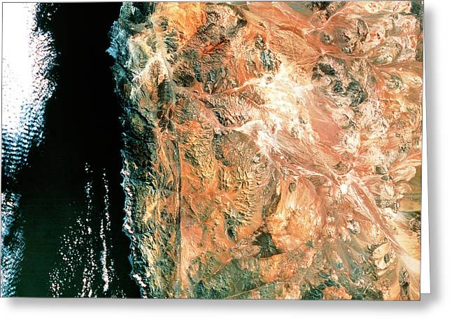 Atacama Desert Greeting Card by Mda Information Systems/science Photo Library